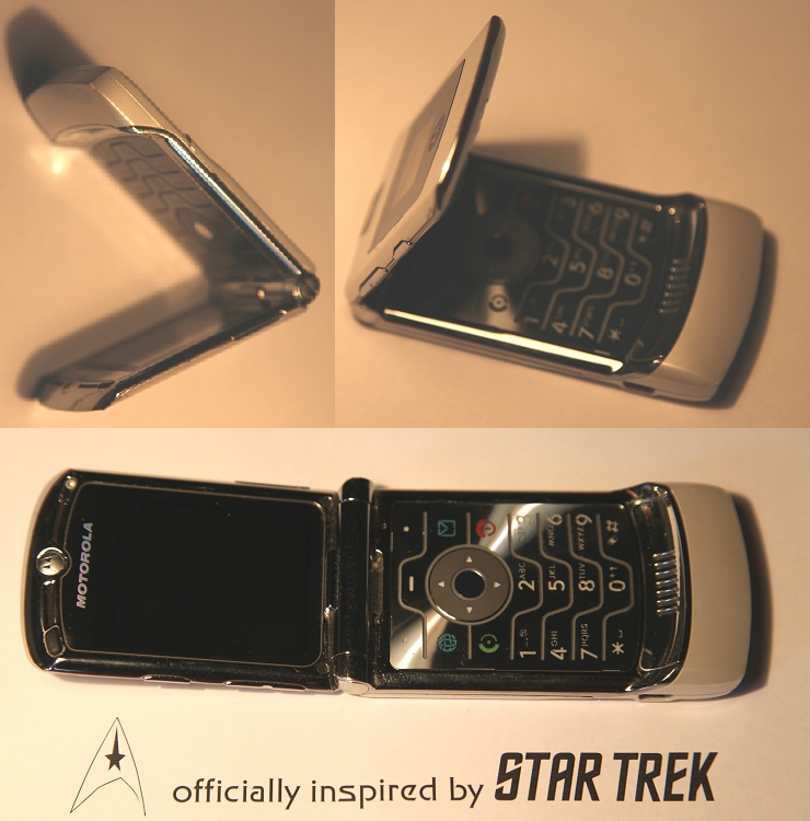 Motorola-Handy inspired by Star Trek
