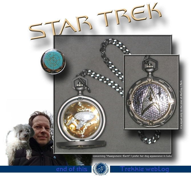Star Trek pocket watch and AC with LuLu